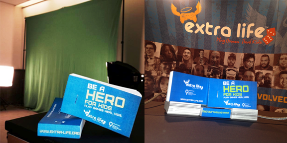 Extra Life - E3 2014 - Animated Flipbooks
