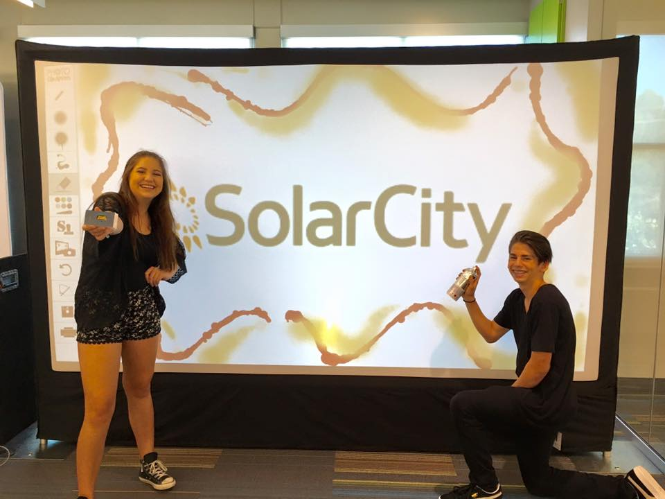 Solar City-Flix in Motion-Event Photo Booth